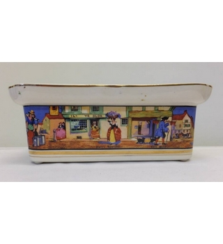 Crown Ducal Cries of London Large Butter Dish